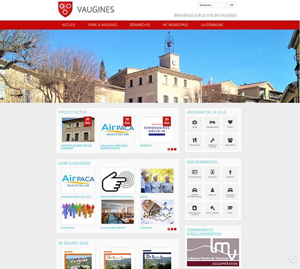 Mairie de Vuagines - Site en Joomla