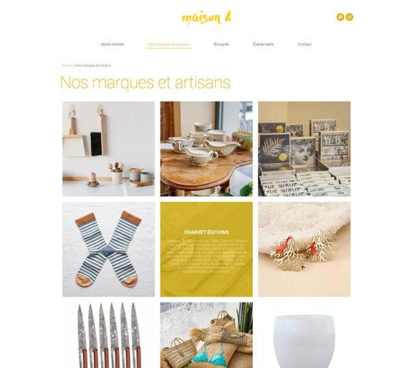 Site WordPress - Maison A Marseille