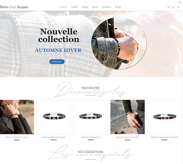 Pierre Paul Jacques - Site sous Prestashop - SEO