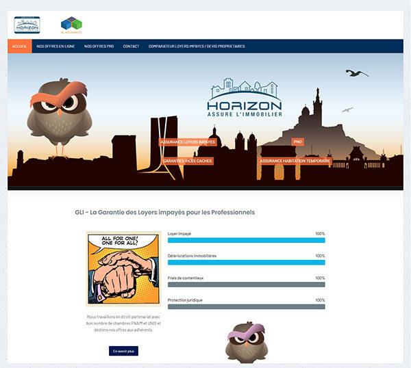 XL Assurances - Site sous Joomla - SEO