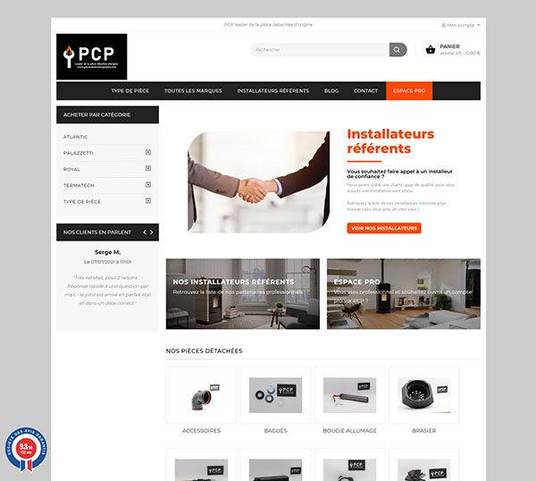 Boutique en ligne Prestashop - Point Chauff Pellets