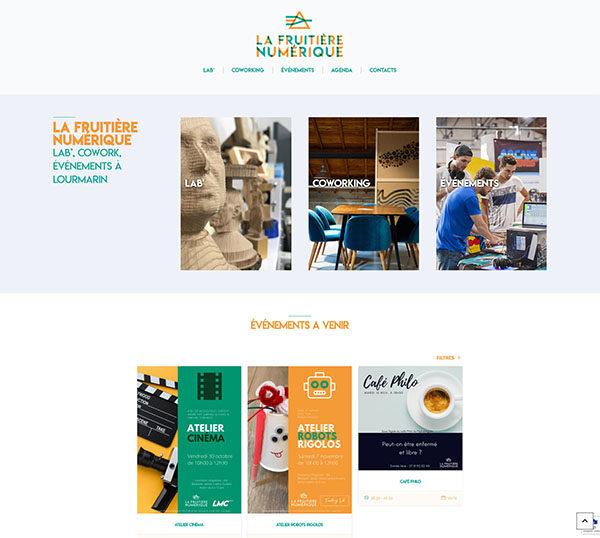 La Fruitière Numérique - Site sous Worpress - SEO
